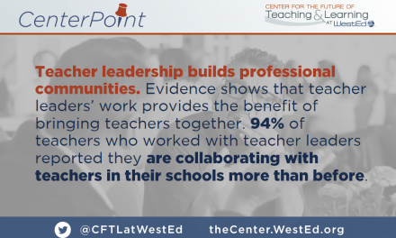 Teacher Leadership Builds Professional Communities