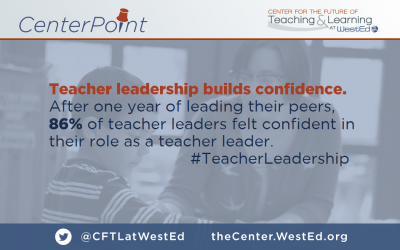 Teacher Leadership Builds Confidence