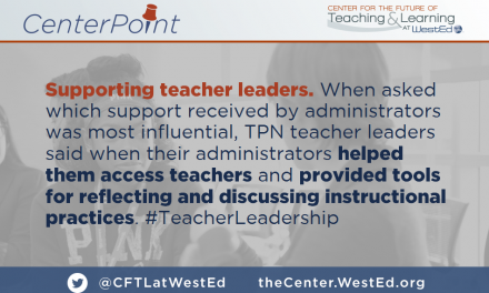 Supporting Teacher Leaders