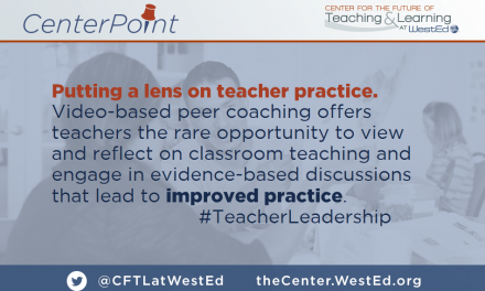 Putting a Lens on Teacher Practice