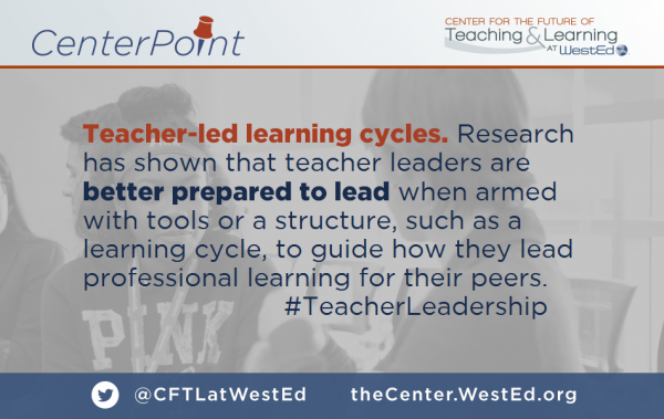 Teacher-led Learning Cycles