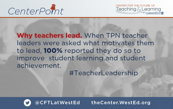 Why Teachers Lead